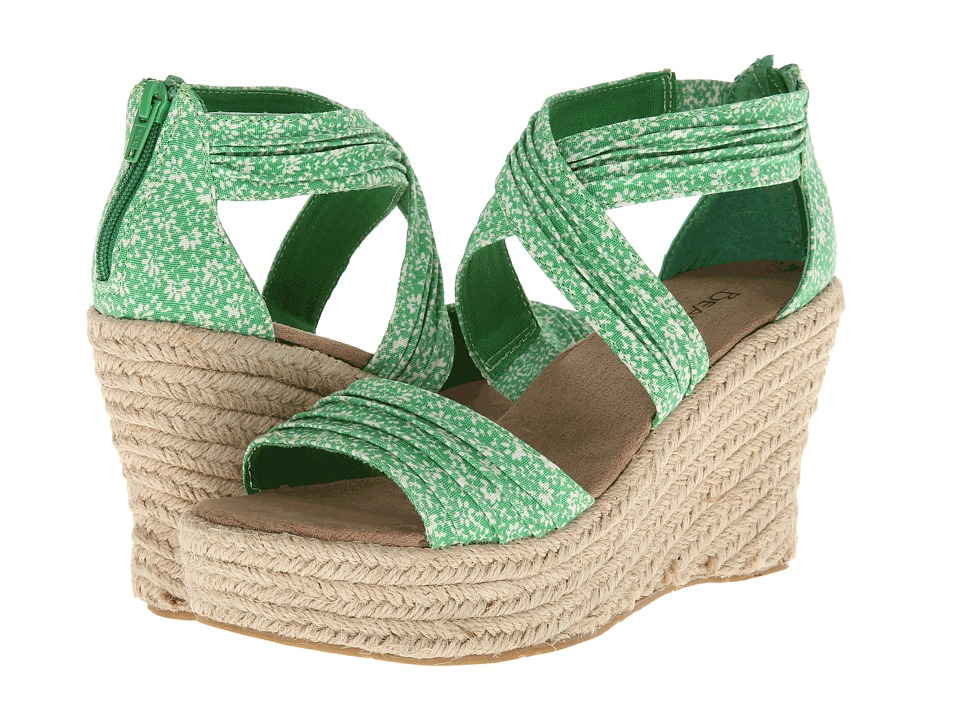 Bearpaw - Begonia (Green) Women's Wedge Shoes