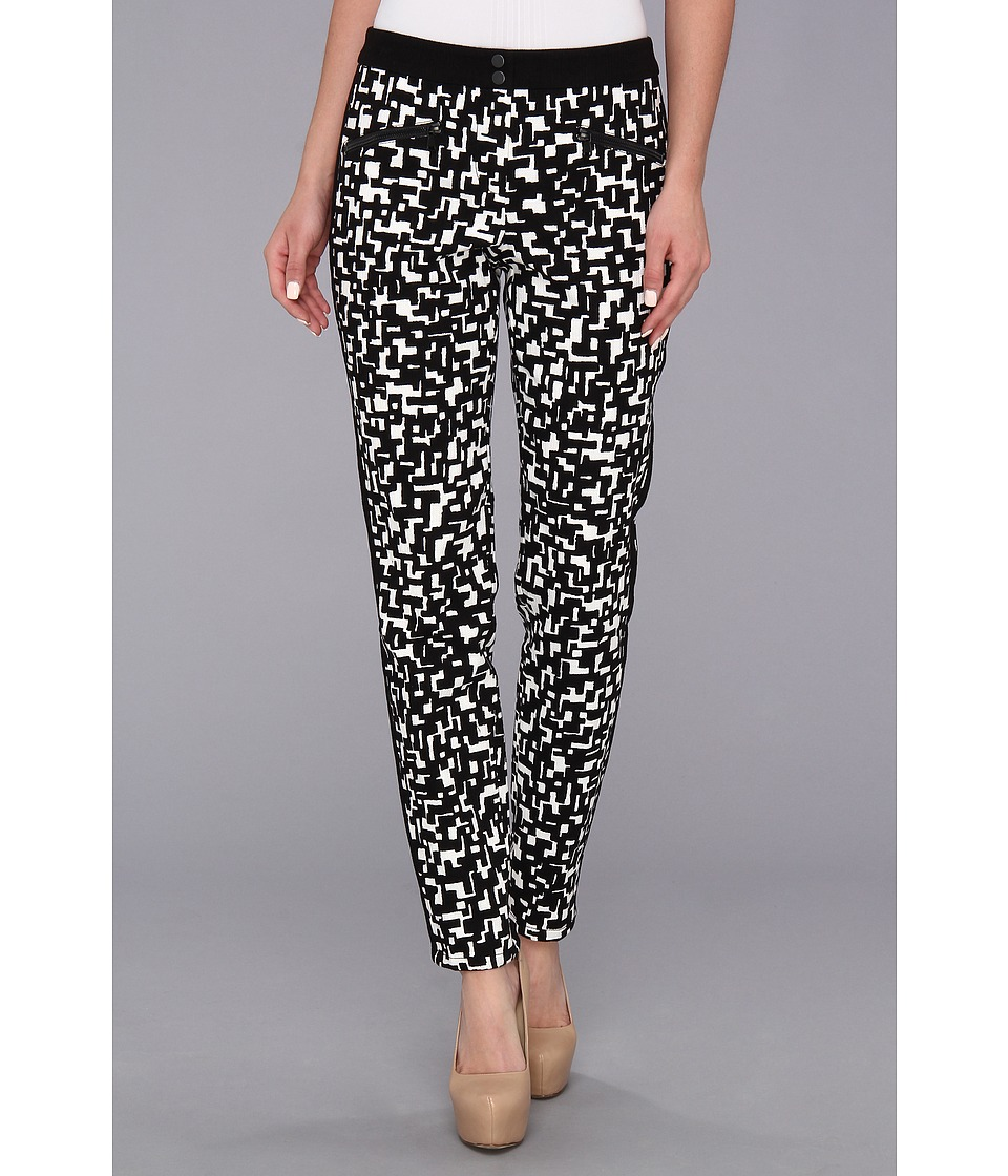 Trina Turk - Lennon Pant (Black/White) Women's Casual Pants