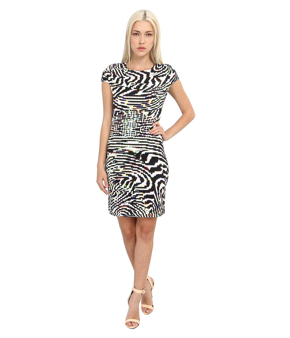Just Cavalli - S05CT0124N20658 (White) Women's Dress