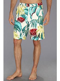 SALE! $16.99 - Save $38 on Nautica Palm Swim Short (Gesso) Apparel - 69.11% OFF $55.00