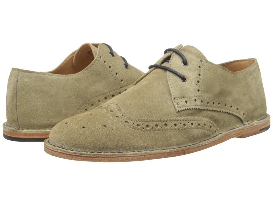 Image of Ben Sherman - Adain (Taupe) Men's Lace Up Wing Tip Shoes