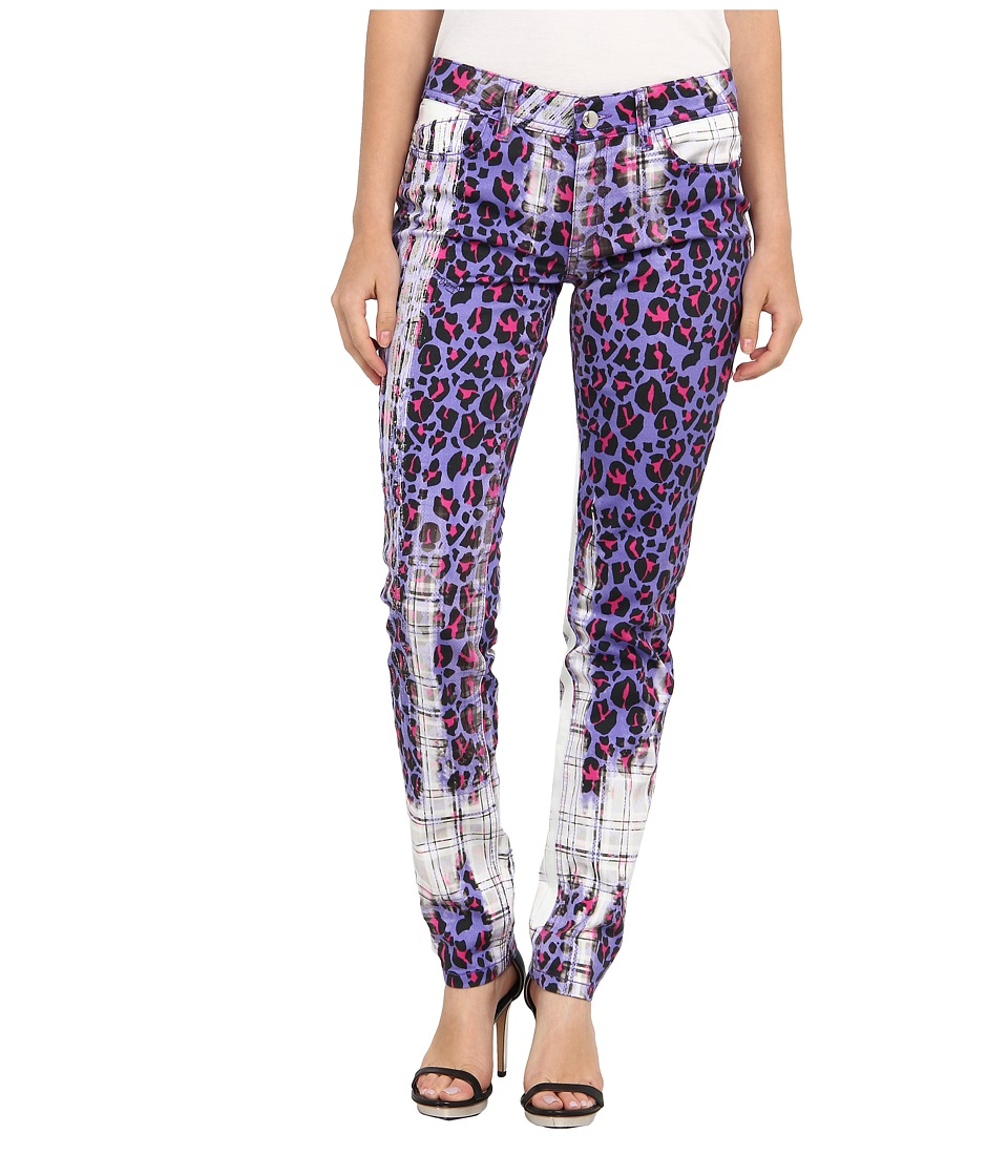 Just Cavalli - S05LA0019N36887 (Violet) Women's Casual Pants