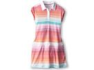 Nike Kids Stripe Dress (Little Kids/Big Kids) (White)