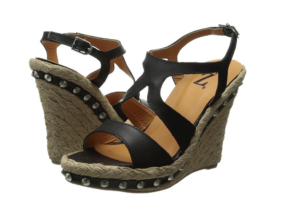 Type Z - Etalon (Black) Women's Wedge Shoes