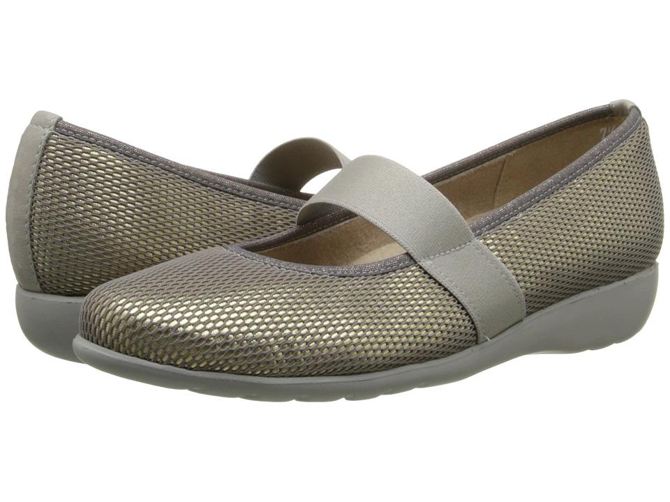 Munro - Fran (Grey Gold Fabric) Women's Shoes
