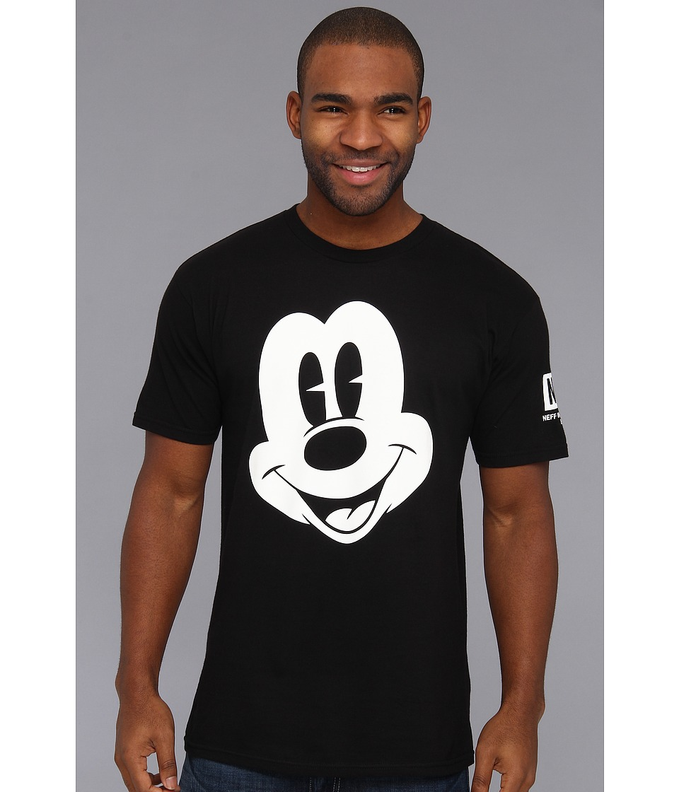 Neff - Mickey Face Tee (Black) Men's T Shirt