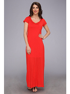 SALE! $51.99 - Save $76 on Splendid T Shirt Maxi Dress with Side Slit (Fiesta) Apparel - 59.38% OFF $128.00