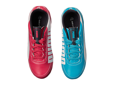 Puma Kids - evoSPEED 3.2 FG Jr (Little Kid/Big Kid) (Beetroot Purple/Bluebird) Kids Shoes