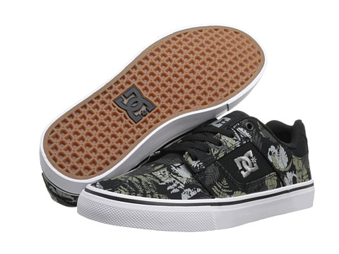 DC - Bridge SP (Black Camouflage) Men's Shoes