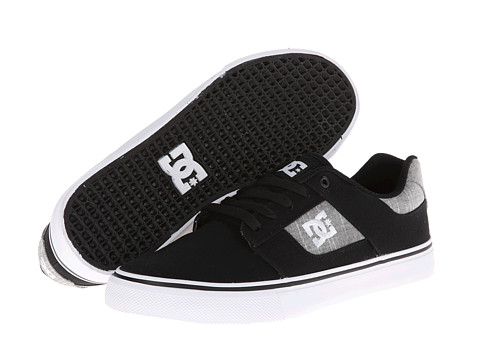 DC - Bridge TX (Black Rinse) Men's Skate Shoes