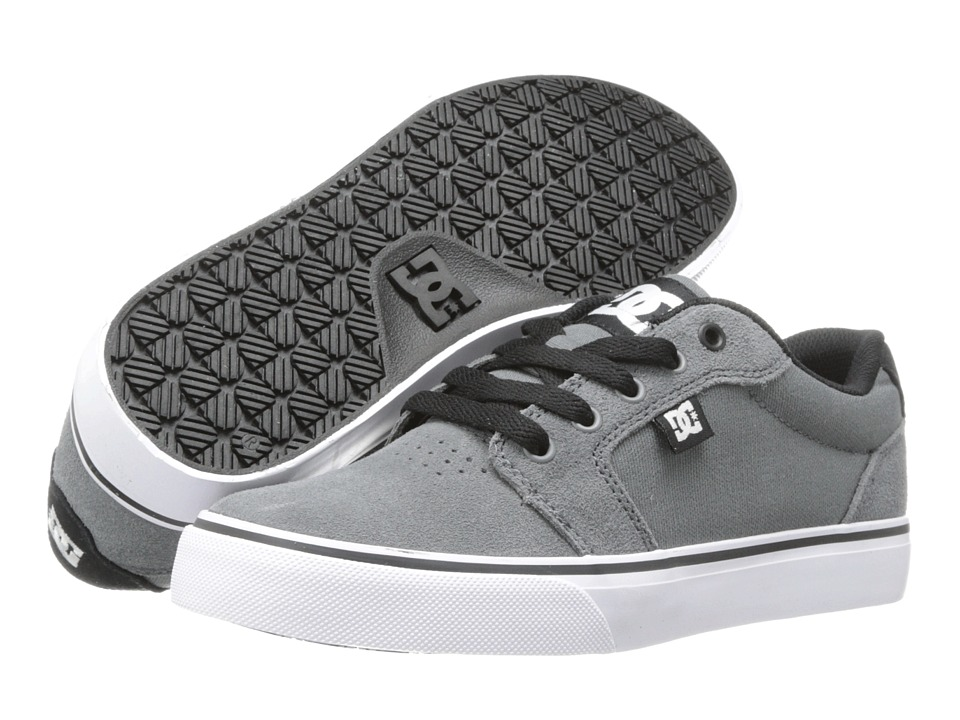 DC - Anvil (Grey/Black/Grey) Men's Skate Shoes