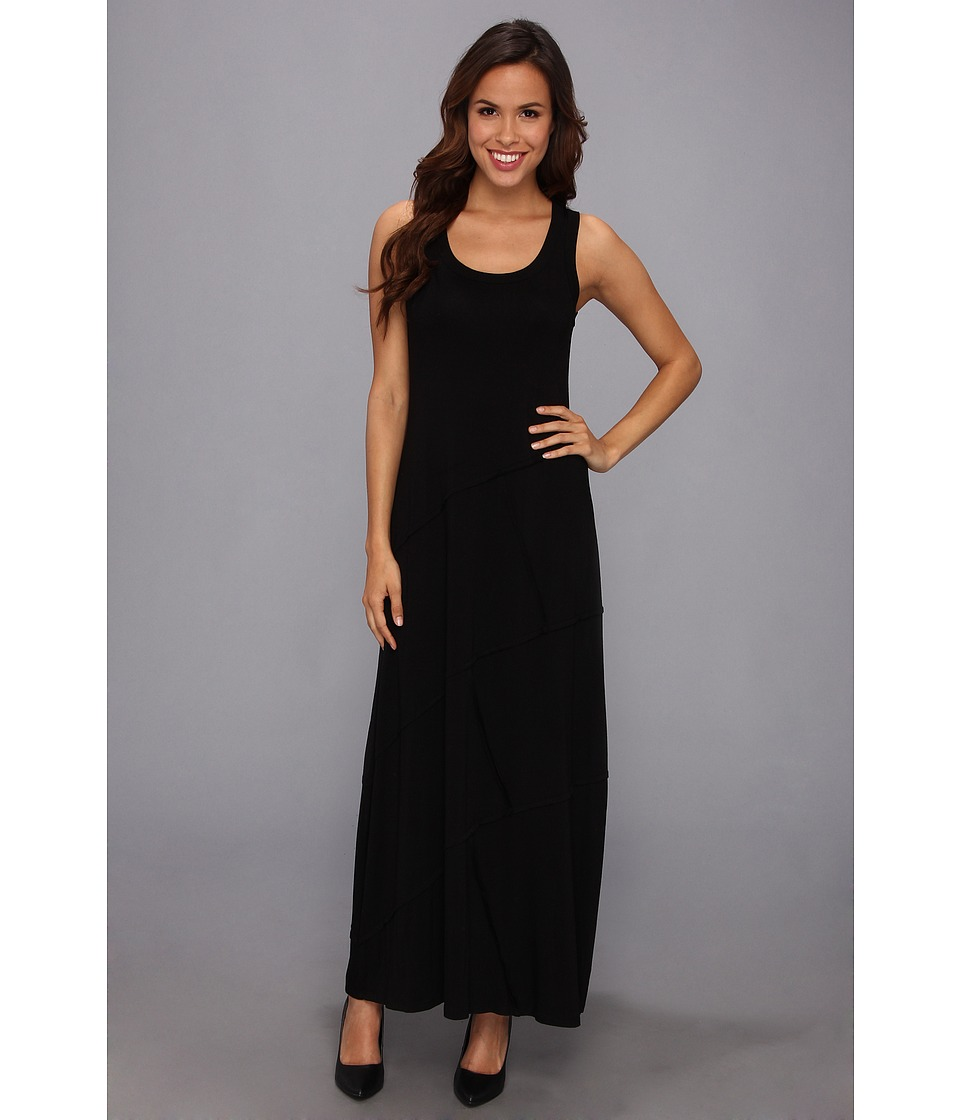Karen Kane - Reverse Seam Carolyn Maxi Dress (Black) Women