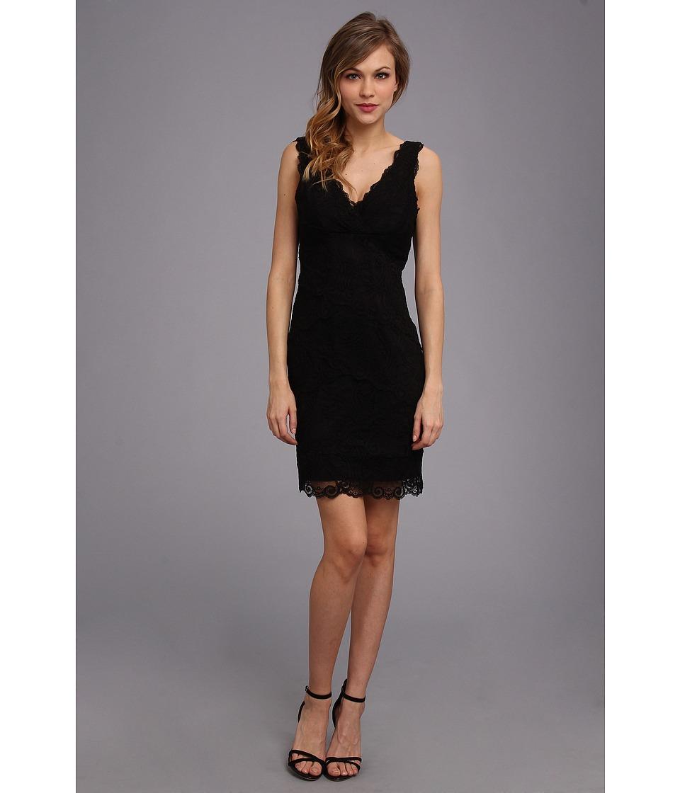 Nicole Miller Marion Lace Dress Womens Dress (Black)