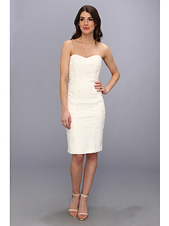 SALE! $231.99 - Save $153 on Nicole Miller Quinn Strapless Dress (Ivory) Apparel - 39.74% OFF $385.00