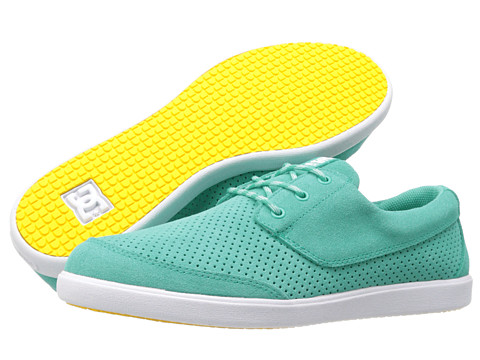 DC - Pool LE (Turquoise) Men's Skate Shoes