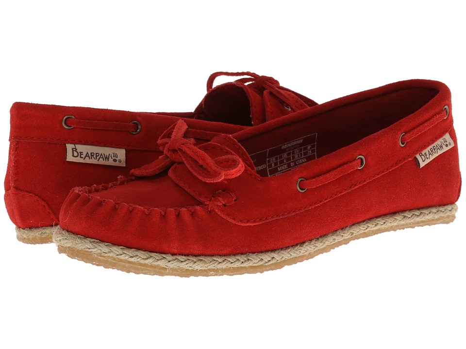Bearpaw - Louise (Red Sun) Women's Slip on Shoes