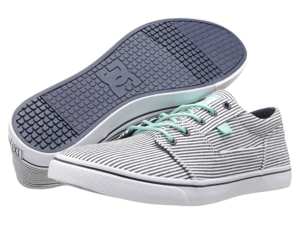 DC - Bristol TX LE (DC Navy/Cockatoo) Women's Skate Shoes