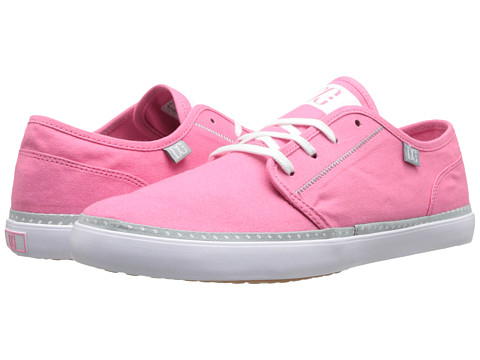 DC - Studio LTZ W (Pink) Women's Skate Shoes