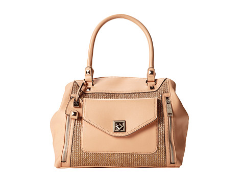 Jessica Simpson Hadley Satchel (Pale Peach) Satchel Handbags