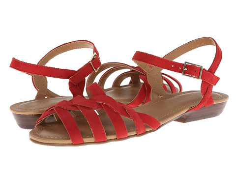 Bass - Clementine (Cosmo Red Nubuck) Women's Sandals