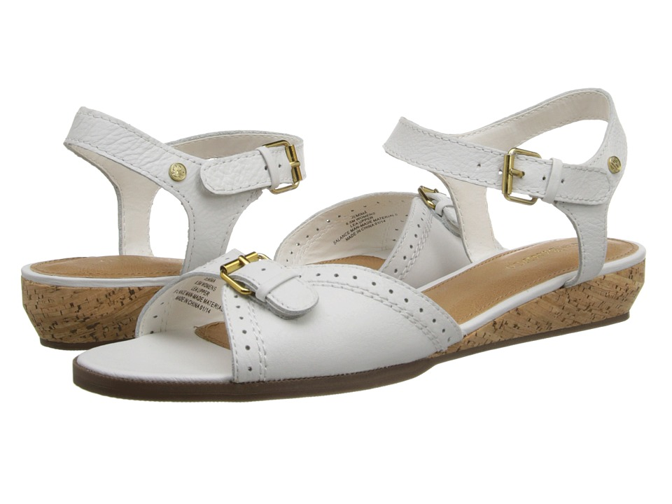 Bass - Jemima (White) Women's Sandals
