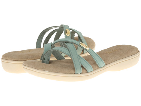 Bass Sharon (Spearmint Nubuck) Women's Sandals