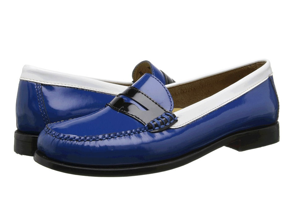 Bass - Wayfarer (Indigo Multi Patent Leather) Women's Slip on Shoes