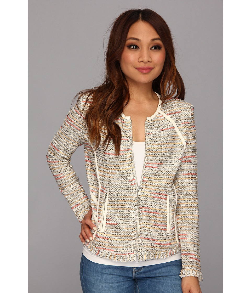 NIC+ZOE - Petite Heat Mist Jacket (Multi) Women's Sweater