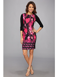 SALE! $236.99 - Save $191 on Elie Tahari Angie Dress ED028603 (Motion Magenta) Apparel - 44.63% OFF $428.00