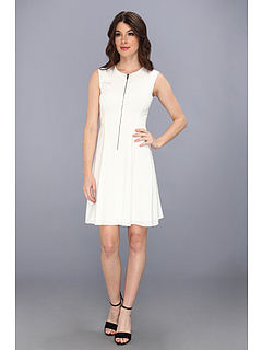 SALE! $159.99 - Save $238 on Elie Tahari Nina Dress (Joey White) Apparel - 59.80% OFF $398.00