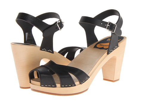 Swedish Hasbeens - Suzanne (Black) High Heels