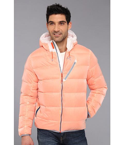 PUMA HERREN 800 Fill Hooded Down Jacket Winter Jacke
