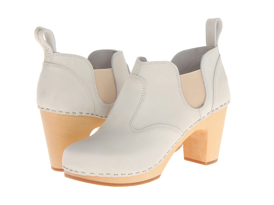 Swedish Hasbeens - Classic Chelsea Boot (Sand Beige Nubuck) Women