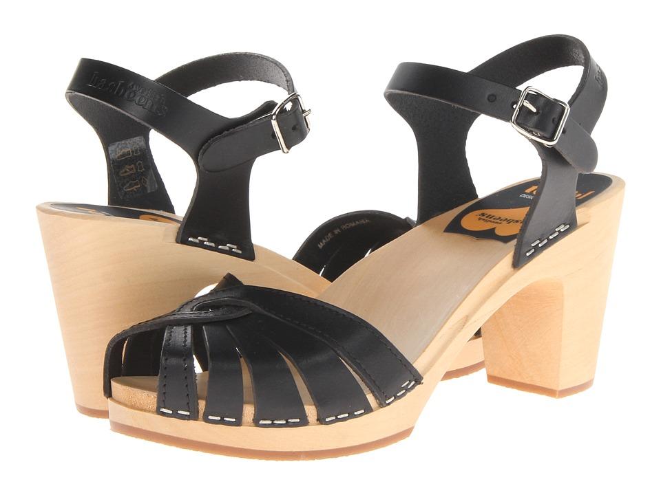 Swedish Hasbeens - Fredrica (Black) High Heels