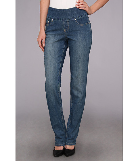 Jag Jeans - Peri Pull-On Straight in Salt Wash (Salt Wash) Women