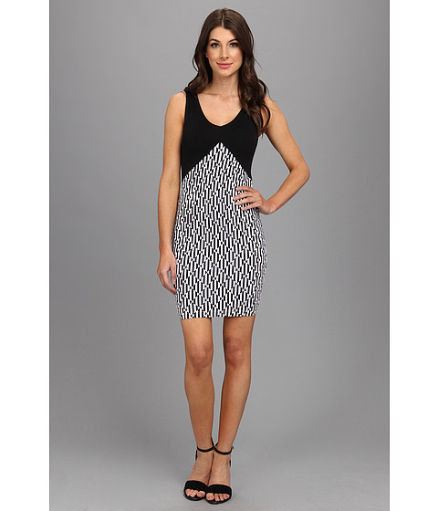 Tart - Grier Dress (Black/Diamond Geo) Women's Dress