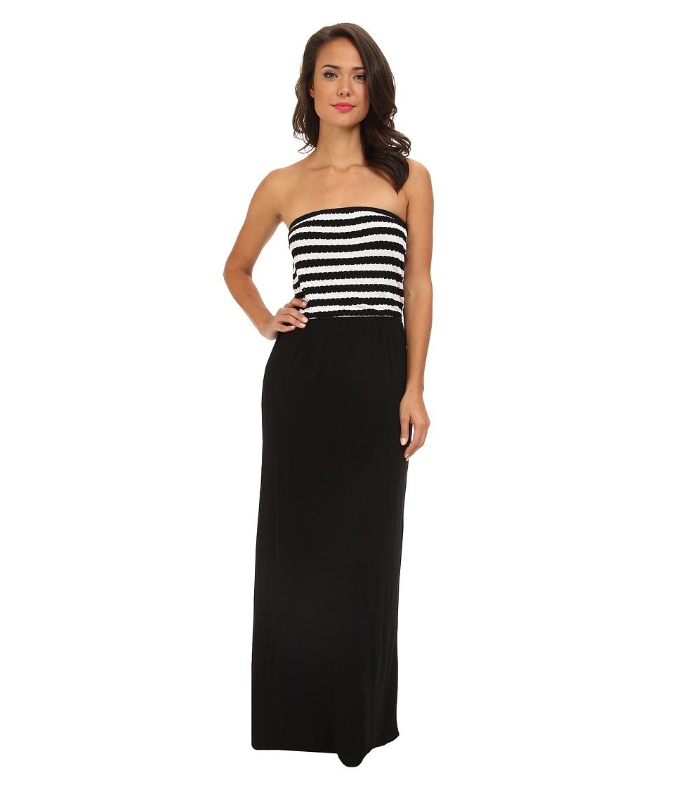 Tart - Samora Maxi (Black/White Stripe) Women's Skirt