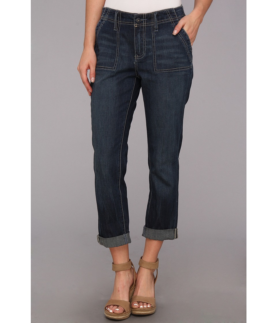 Jag Jeans - Andrew Surplus Relaxed Crop in Bowie Blue (Bowie Blue) Women
