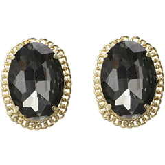 SALE! $15.99 - Save $29 on Sparkling Sage E14459 Earring (Gold Black) Jewelry - 64.47% OFF $45.00