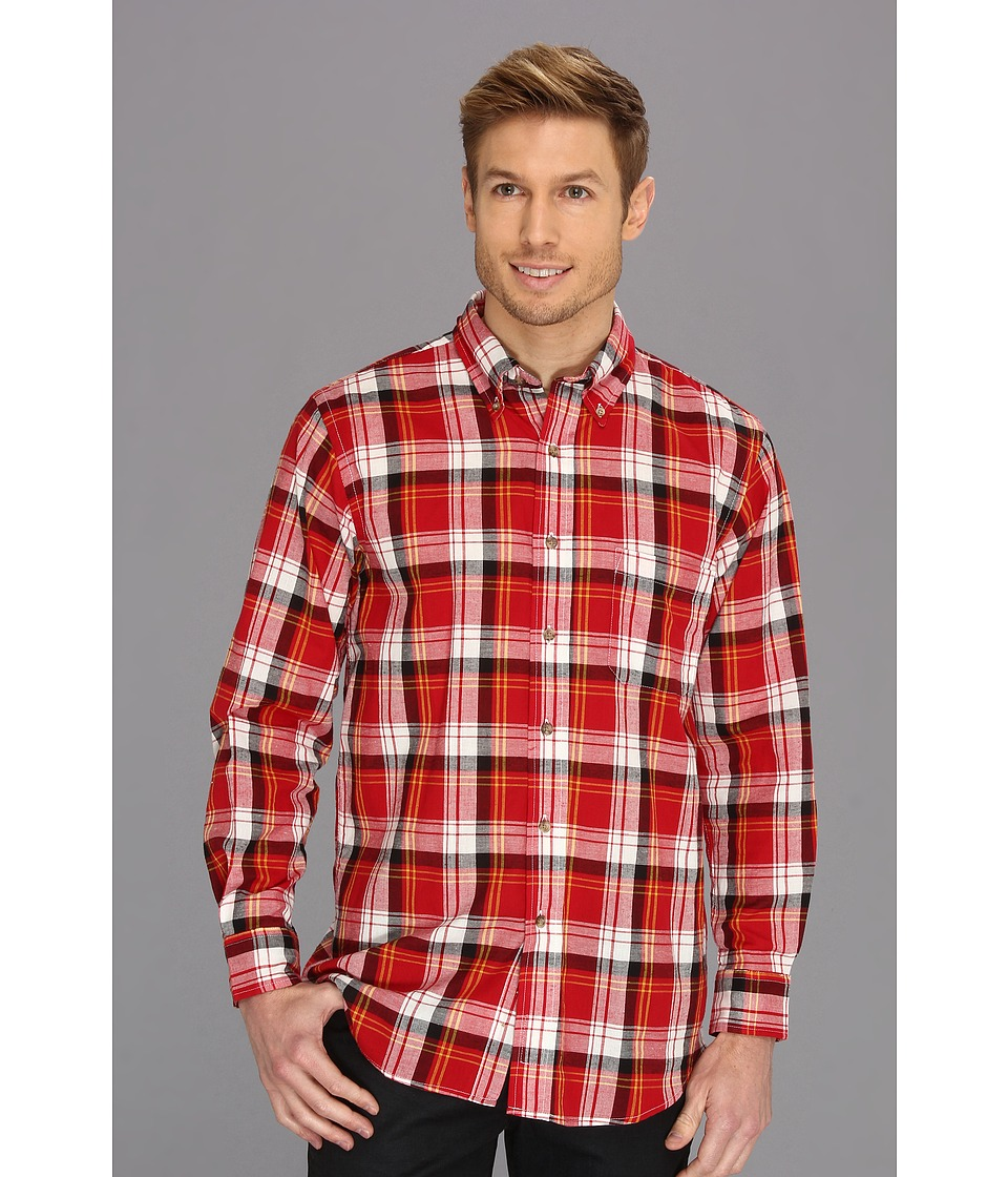 Pendleton - L/S Oceanside Shirt (Red/Yellow Plaid) Men