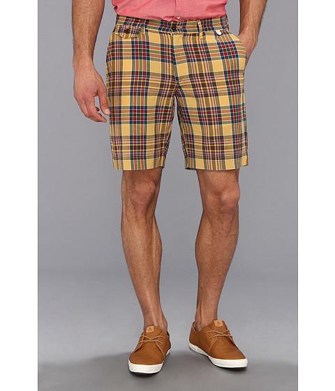 Pendleton - Madras Short (Gold/Forest/Maroon Plaid) Men