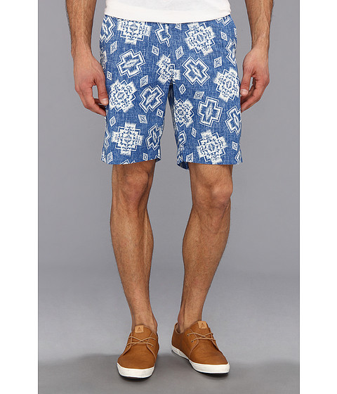Pendleton - Limited Edition Icon Surfster Short (Blue/White PWM Iconic Print) Men
