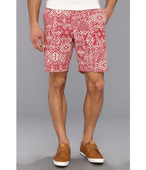 Pendleton - Limited Edition Icon Surfster Short (Red PWM Bandana Print) Men