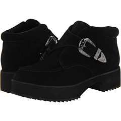Shellys London Braunol (Black Suede) Footwear