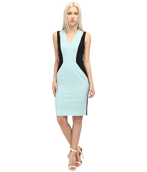 Rachel Roy - Mix Cut Out Dress (Mint/Black) Women