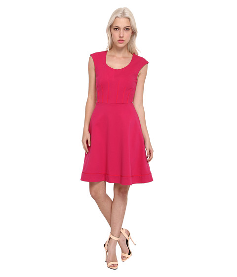 Rachel Roy - Flared Dress (Framboise) Women