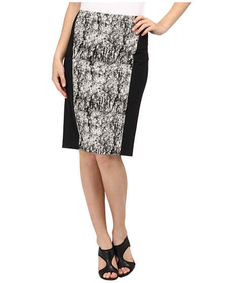 Rachel Roy - Mixed Pencil (Natural/Black) Women's Skirt