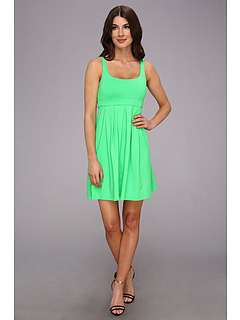 SALE! $64.99 - Save $96 on Susana Monaco Tank Pleat Dress S14A3992A (Zing) Apparel - 59.63% OFF $161.00