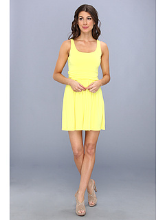 SALE! $79.99 - Save $96 on Susana Monaco Bethany Dress (Lemon Tonic) Apparel - 54.55% OFF $176.00