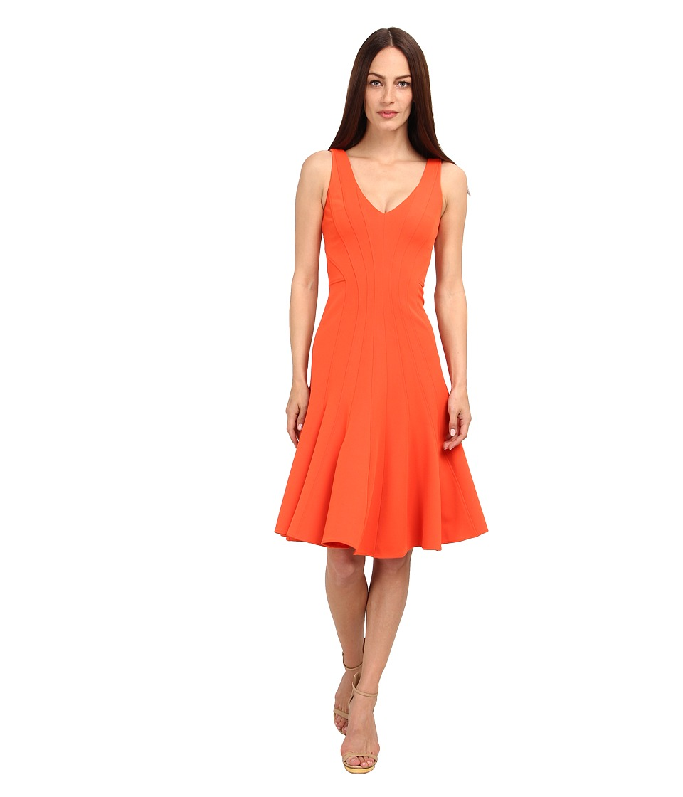 ZAC Zac Posen - ZP-01-5030-16 (Flame) Women's Dress